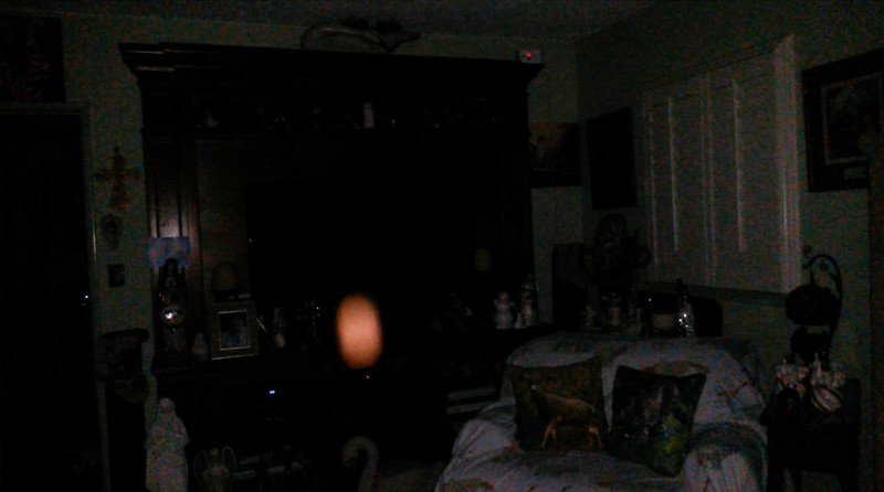 This is the fifth still image, of six images presented, of The Light of Jesus; as captured on video Christmas Evening 2018.