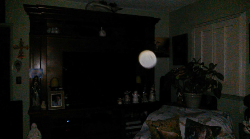 This is the third still image, of nine images presented, of The Light of Jesus; as captured on video the evening of September 5, 2018.