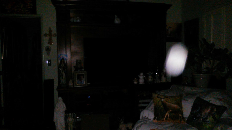 This is the second and final still image of The Light of Mother Mary; as captured on video the evening of June 16, 2018.