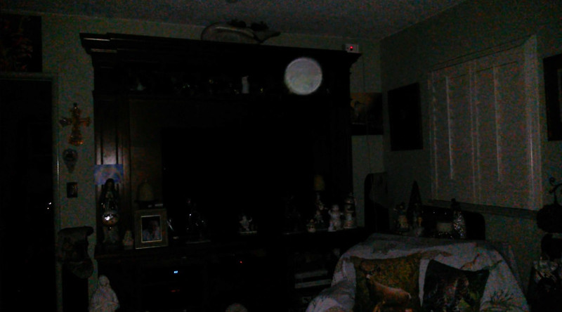 This is the second still image, of five images presented, of The Light of Mary Magdalene; as captured on video the evening of December 17, 2018.