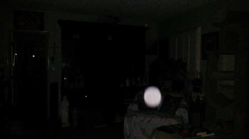 This is the second still image, of nine images presented, of The Light of Jesus; as captured on video the evening of February 13, 2018.