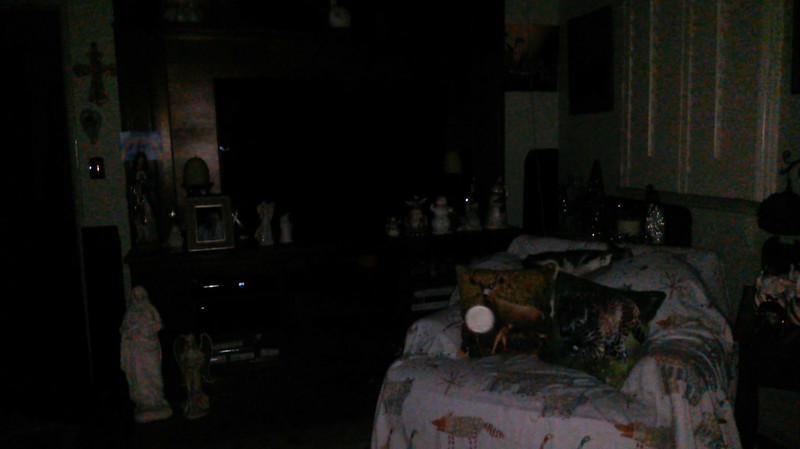 This is the third and final still image of The Light of Mary Magdalene; as captured on video the evening of November 16, 2018.