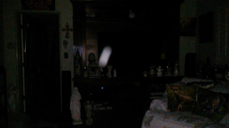 This is one still image, of ten images presented, of The Light of Mother Mary; as captured on video the evening of November 16, 2018.