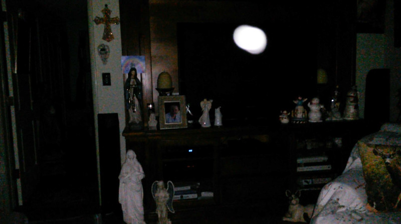 This is the twenty-eighth still image, of thirty-eight images presented, of The Light of Jesus; as captured on video Election Night, November 6, 2018.