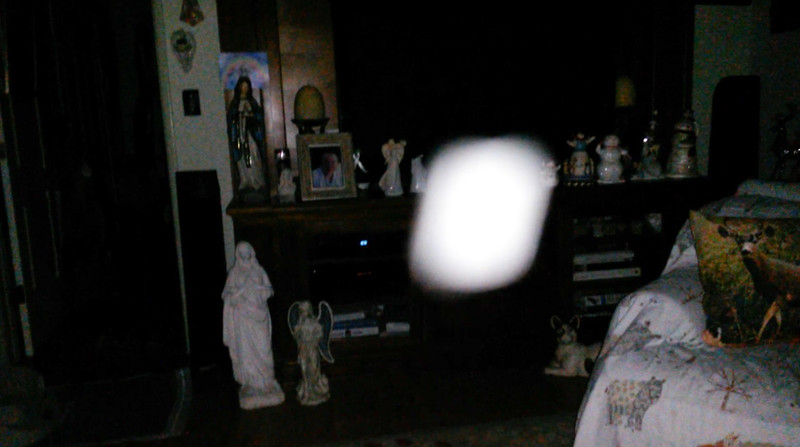 This is the thirty-sixth still image, of thirty-eight images presented, of The Light of Jesus; as captured on video Election Night, November 6, 2018.