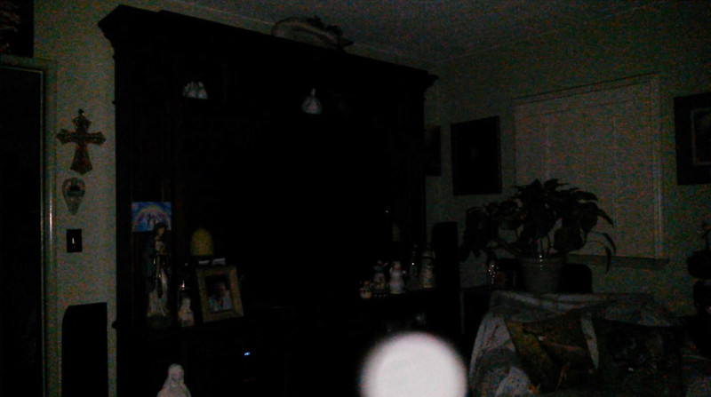 This is the fifth still image, of eight image presented, of The Light of Jesus; as captured on video the evening of September 15, 2018.