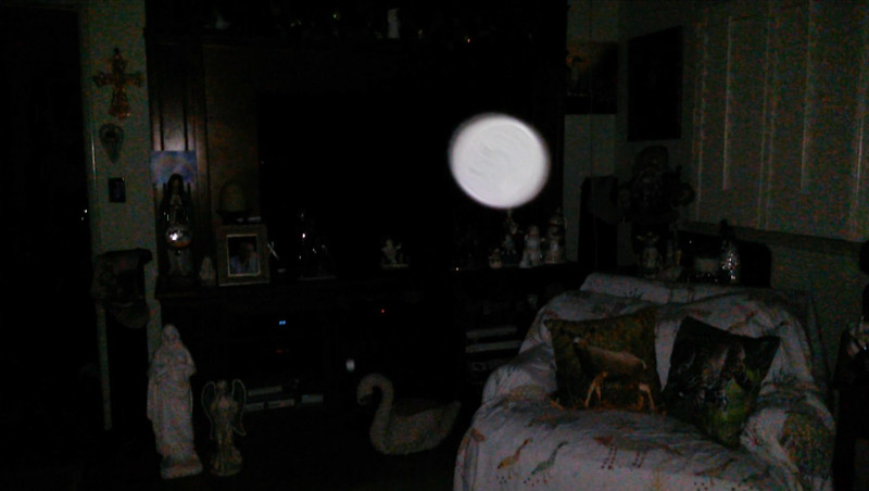 This is the sixth and final still image of The Light of Jesus; as captured on video the evening of December 24, 2018.