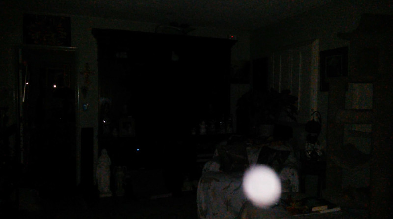 This is the third still image, of nine images presented, of The Light of Jesus; as captured on video the evening of February 13, 2018.