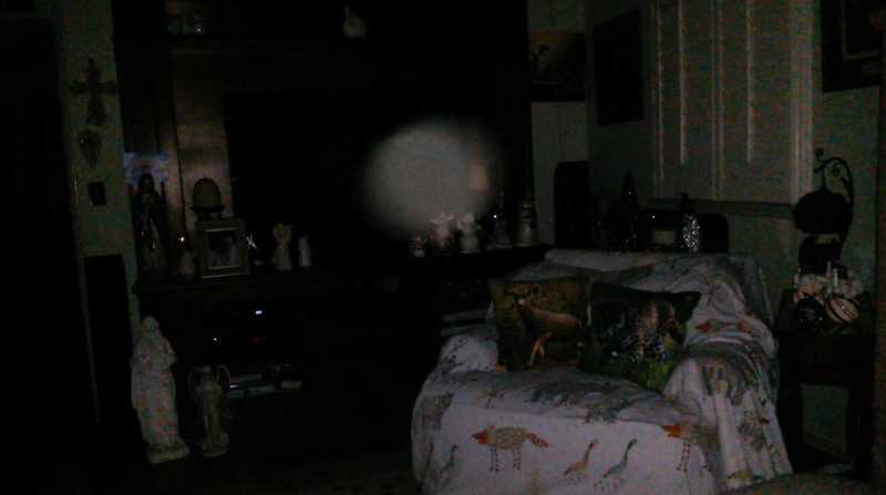 This is the tenth and final still image of The Light of Mother Mary; as captured on video the evening of November 11, 2018.