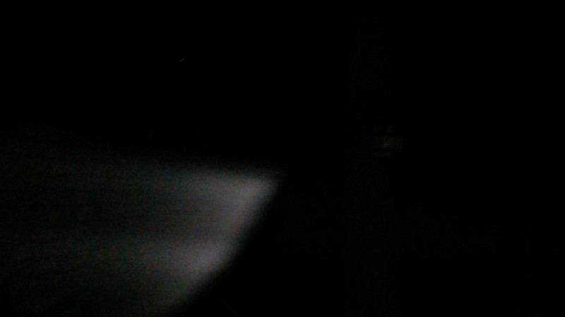 This is the second and final still image of The Light of Jesus; as captured on video the evening of August 4, 2017.