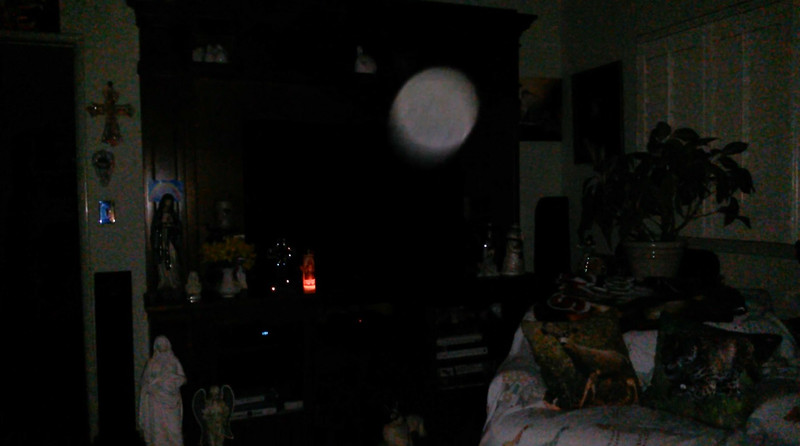 This is the sixth and final still image of Archangel Ariel; as captured on video Easter Eve, March 31, 2018.