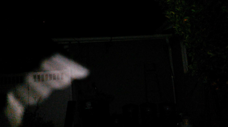 This is the second still image, of three images presented, of The Light of Jesus; as captured on video the evening of April 28, 2018.