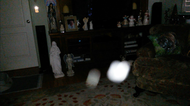 This is the ninth still image, of eleven images presented of The Light of Jesus with Archangel Gabriel; as captured on video the morning of November 3, 2018.