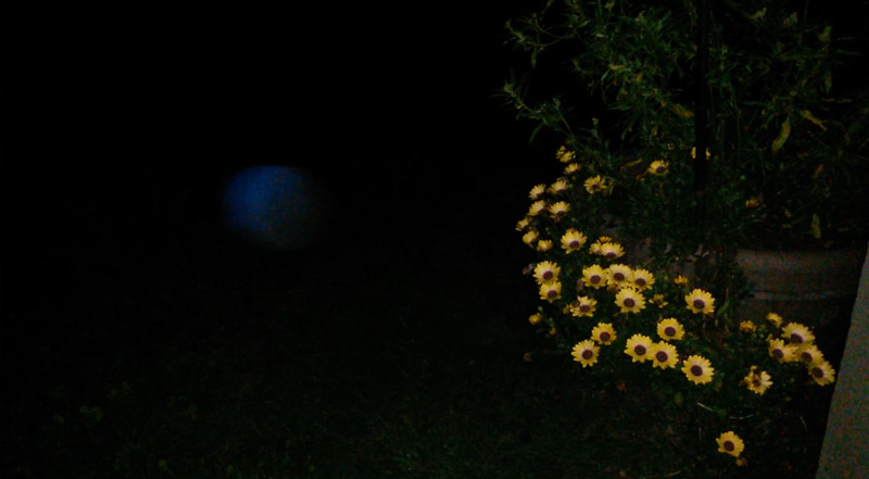 This is one still image, of eight images presented, of The Light of Jesus; as captured on video the evening of March 9, 2017.