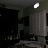 This is the fourth still image, of nine images presented, of The Light of my friend's father, Del; as captured on video the evening of November 2, 2018.