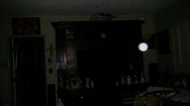 This is the second still image, of ten images presented, of The Light of Jesus; as captured on video the evening of November 16, 2018.
