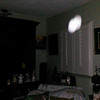 This is the fifth still image, of nine images presented, of The Light of my friend's father, Del; as captured on video the evening of November 2, 2018.