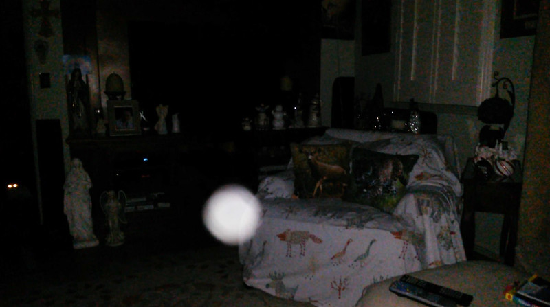 This is the second still image, of eight images presented, of The Light of Jesus; as captured on video the evening of November 11, 2018.