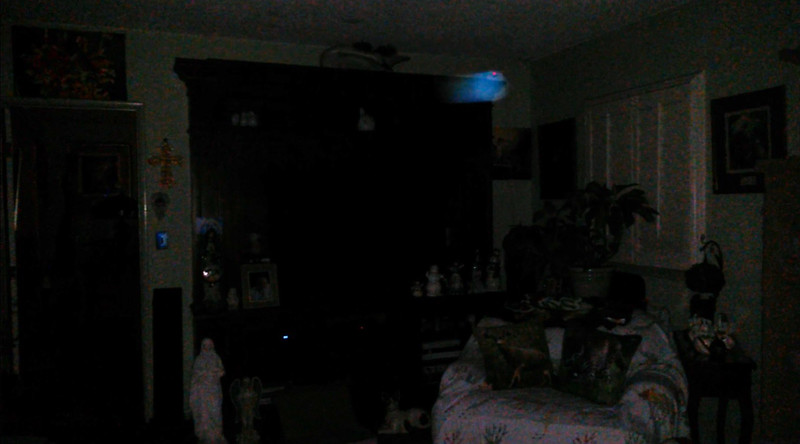 This is one still image, of four images presented, of The Light of Jesus; as captured on video the evening of March 6, 2018.