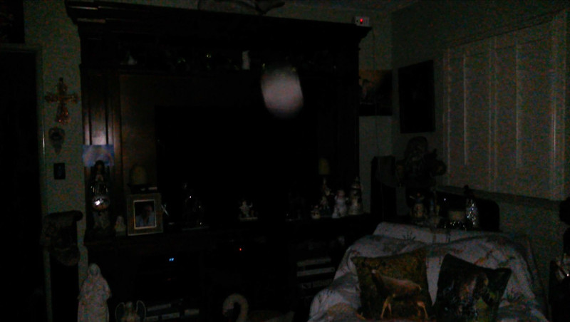 This is the tenth and final still image of Archangel Ariel; as captured on video the evening of December 24, 2018.