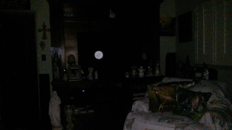 This is the seventh still image, of eight images presented, of The Light of Mother Mary; as captured on video the evening of November 16, 2018.