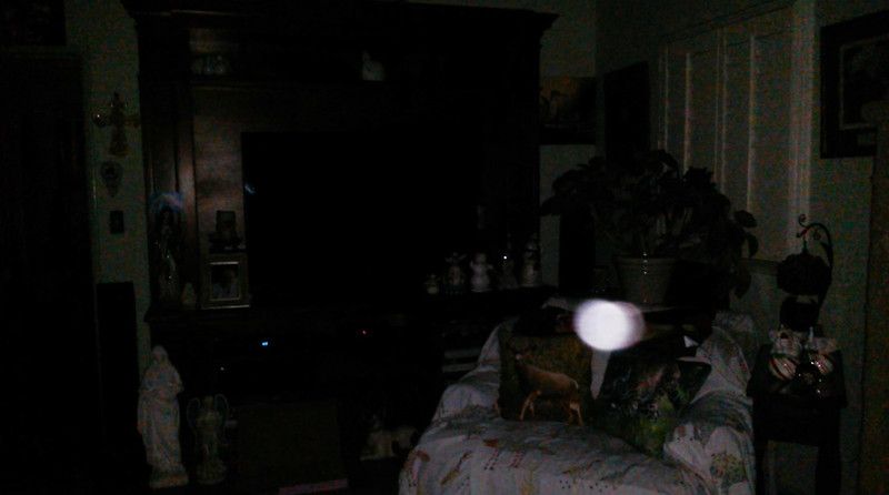 This is the third still image, of five images presented, of The Light of Jesus; as captured on video the evening of May 13, 2018.