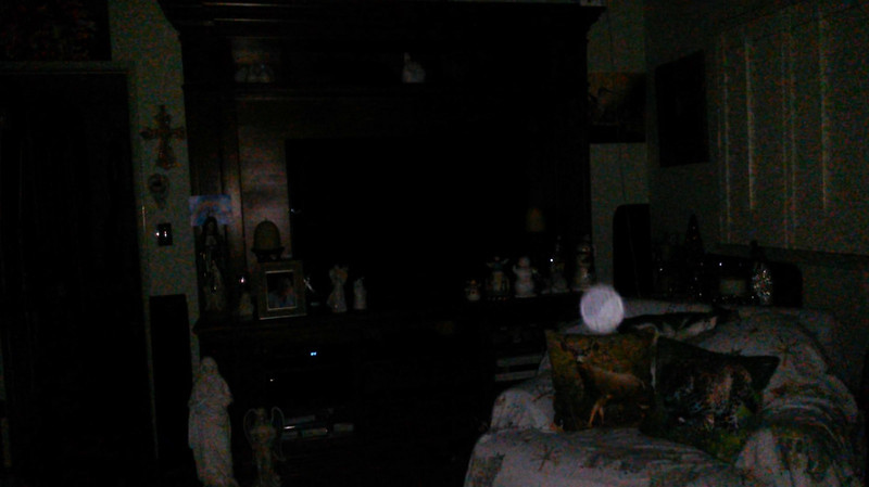 This is the second still image, of eleven images presented, of The Light of Saint Francis; as captured on video the evening of November 16, 2018.