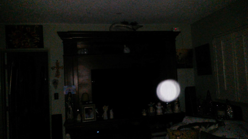 This is the sixth still image, of ten images presented, of The Light of Jesus; as captured on video the evening of November 16, 2018.