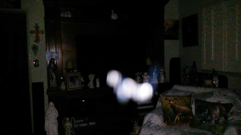 This is the fourteenth still image, of thirty-eight images presented, of The Light of Jesus; as captured on video Election Night, November 6, 2018.