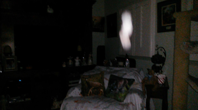 This is the second still image, of fourteen images presented, of The Light of Jesus; as captured on video the evening of October 3, 2018.
