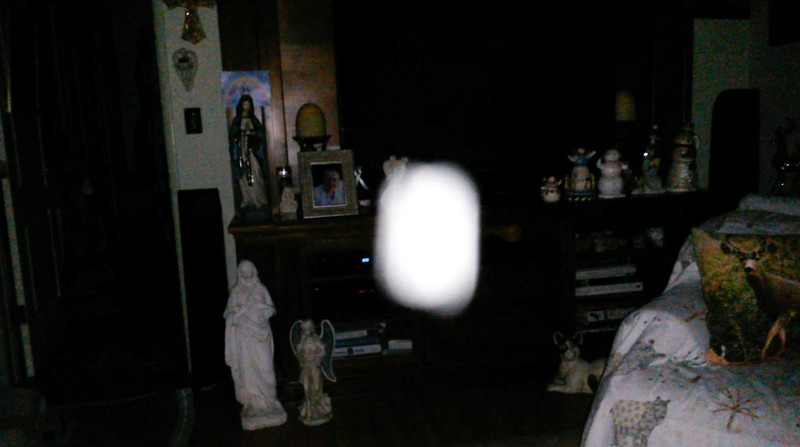 This is the thirty-fifth still image, of thirty-eight images presented, of The Light of Jesus; as captured on video Election Night, November 6, 2018.