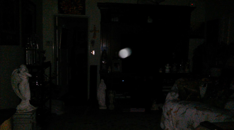 This is the third still image, of seven images presented, of The Light of Jesus; as captured on video the evening of February 16, 2018.