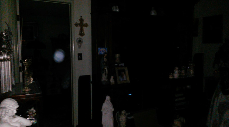 This is the third still image, of six images presented, of The Light of Jesus; as captured on video the evening of March 26, 2018.