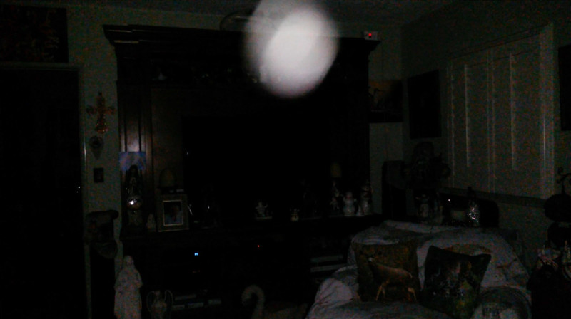 This is the second still image, of eight images presented, of The Light of Jesus; as captured on video the evening of December 26, 2018.