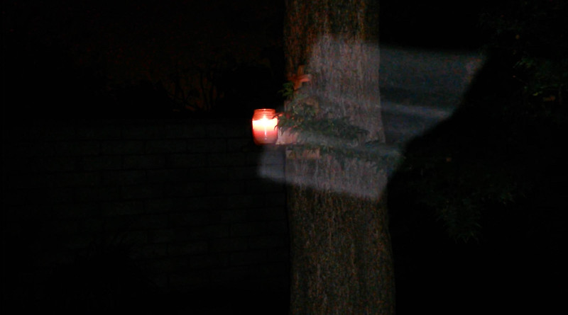 This is the second still image, of four images presented,  of The Light of Jesus; as captured on video the evening of June 10, 2014.