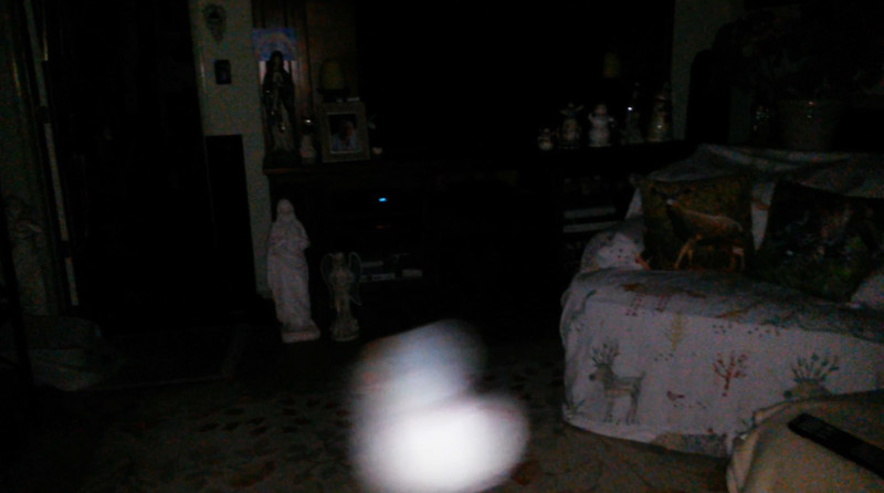 This is the ninth still image, of ten images presented, of The Light of Jesus; as captured on video the morning of September 16, 2018.