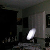 This is the sixth still image, of nine images presented, of The Light of my friend's father, Del; as captured on video the evening of November 2, 2018.