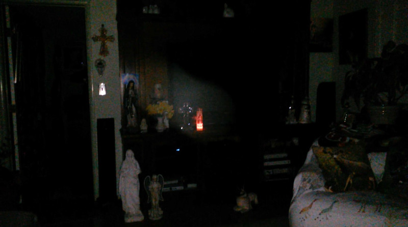 This is the fifth and final still image, of five images presented, of The Light of Jesus; as captured on video Easter Eve, March 31, 2018.