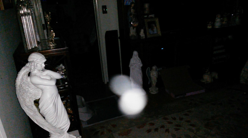 This is the sixth still image, of twelve images presented, of The Light of Jesus; as captured on video the evening of January 19, 2018.