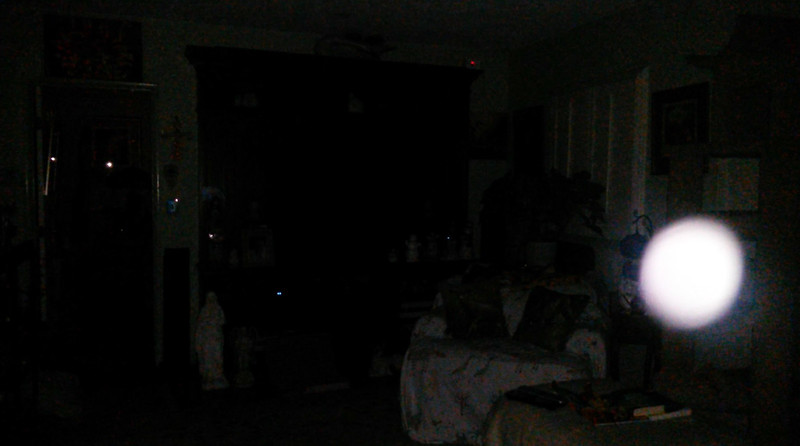 This is the fourth still image, of five images presented, of The Light of Jesus; as captured on video the evening of February 13, 2018.