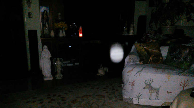 This is the third still image, of ten images presented, of The Holy Spirit; as captured on video Easter Eve, March 31, 2018.