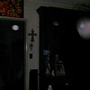 This is the fifth and final still image of The Holy Spirit (large orb) accompanied by an Angelic Being; as captured on video Easter evening  April 1, 2018.