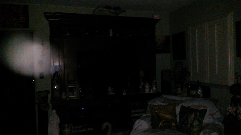 This is the eighth and final still image of The Light of Jesus; as captured on video the evening of December 26, 2018.