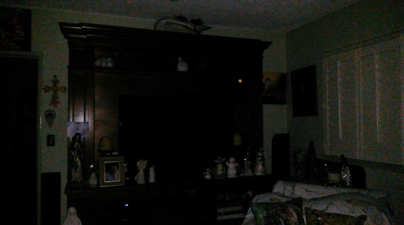 This is the sixth still image, of fourteen images presented, of The Light of my friend's mother, Trixie; as captured on video the evening of November 2, 2018.