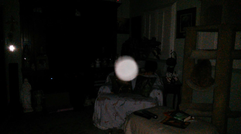 This is the fourth still image, of eight images presented, of The Light of Jesus; as captured on video the evening of February 8, 2018.