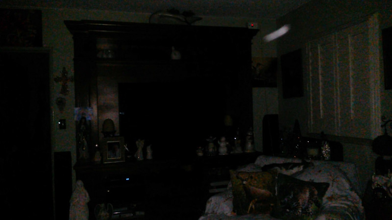 This is the tenth still image, of fifteen images presented, of The Light of Jesus; as captured on video the evening of November 16, 2018.