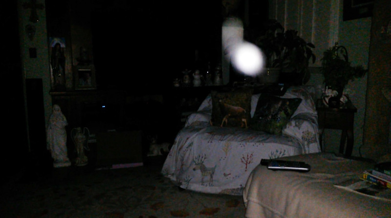 This is the third still image, of twelve images presented, of The Light of Mother Mary; as captured on video the evening of May 16, 2018.