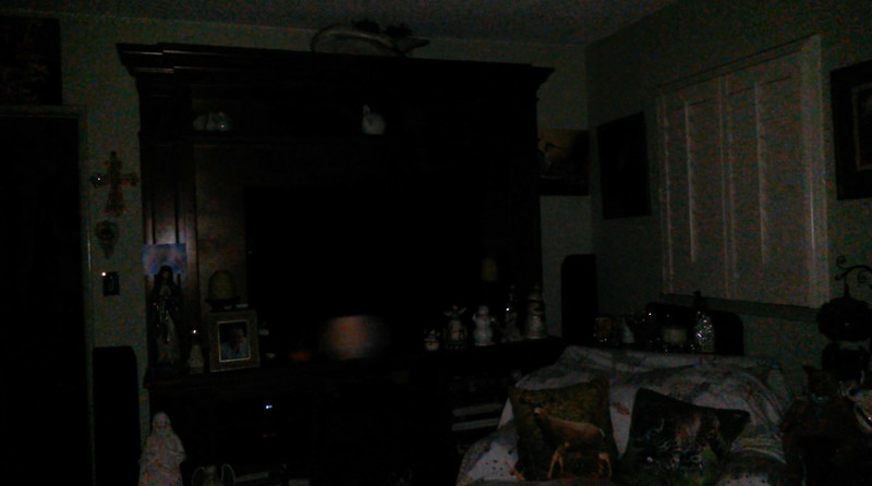 This is one still image, of two images presented, of The Light of Mary Magdalene; as captured on video the evening of October 3, 2018.