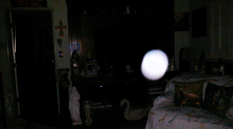 This is the sixth still image, of eight images presented, of The Light of Jesus; as captured on video the evening of December 17, 2018.