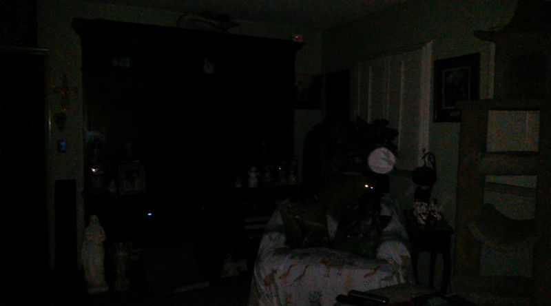 This is one still image, of four images presented, of The Light of Jesus; as captured on video the evening of February 15, 2018.